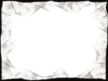 black ramgrunge Arkivbild