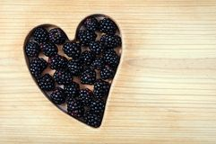 Black raspberry Royalty Free Stock Image