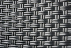 Black rattan weave texture background Royalty Free Stock Image