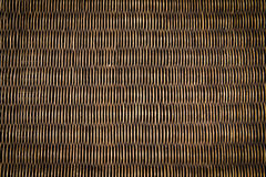 Black rattan wood texture royalty free stock images