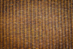 Black rattan wood texture Stock Photography