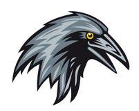 Black raven stock illustration
