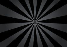Black Rays Stock Photography