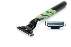 Black razor Royalty Free Stock Photography