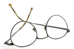 Black reading glasses Royalty Free Stock Photo