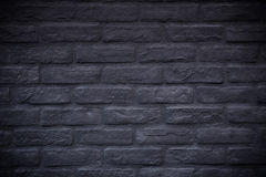 Black rectangle brick mosaic in rectangle form Royalty Free Stock Photography