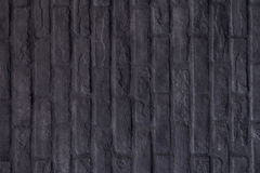 Black rectangle brick mosaic in rectangle vertical form Stock Photography