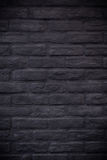 Black rectangle brick mosaic in rectangle vertical form Royalty Free Stock Photography