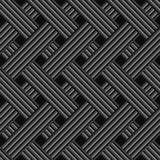 Black rectangle seamless Royalty Free Stock Image