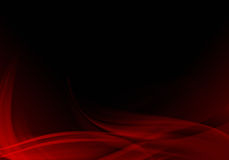 Black and red abstract background. Abstract background waves. Black and red abstract background Stock Images