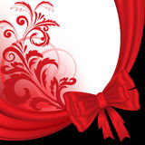 Black and red background Royalty Free Stock Photography