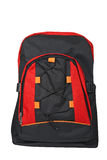 Black and red backpack Stock Image