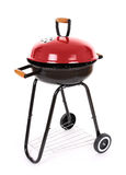 Black and red  barbecue grill Stock Photo