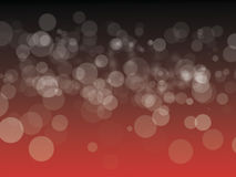 Black and Red bokeh background Stock Photography
