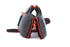 Black and red boxing gloves Stock Photography