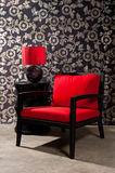 Black red Chair Stock Photos
