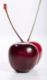 Black and Red Cherries Stock Photo