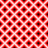 Black and red chessboard,. Abstract geometric background Stock Images