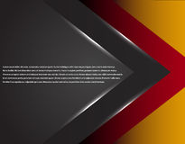 Black and red corporate tech striped graphic design. Glowing lines. Colorful theme Royalty Free Stock Images