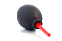 Black & red dust blower Stock Images