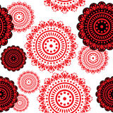 Black and red elements Royalty Free Stock Photos