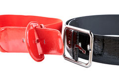 Black and red female belt Stock Photo