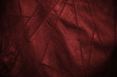 Black and red leather Royalty Free Stock Image