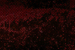 Black and red metallic mesh background texture Stock Photos