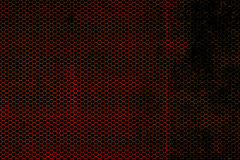 Black and red metallic mesh background texture Stock Photo