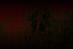 Black and red metallic mesh background texture Royalty Free Stock Images