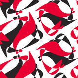 Black and red pattern Royalty Free Stock Images
