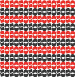 Black red pattern. For any business use Royalty Free Stock Image