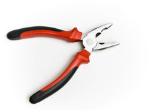 Black and red pliers Royalty Free Stock Image