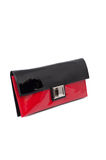 Black and red purse Stock Image