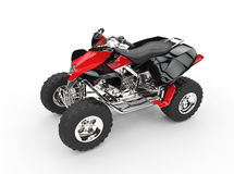 Black Red Quad Royalty Free Stock Photo
