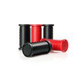 Black and red rollers Royalty Free Stock Image