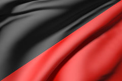 Black and red silk Royalty Free Stock Photography