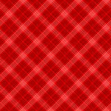 Black and red simple tartan traditional fabric seamless pattern, vector royalty free illustration