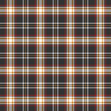 Black, red and white plaid background Royalty Free Stock Photo