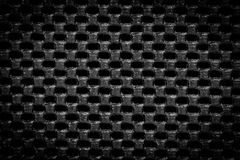 Black regular texture Royalty Free Stock Image