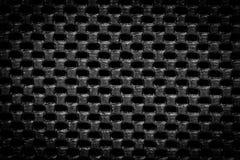 Black regular texture Royalty Free Stock Image