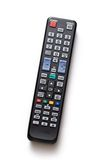 Black remote control Stock Images