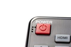 Black remote control Royalty Free Stock Image