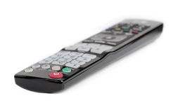 Black remote control Royalty Free Stock Images