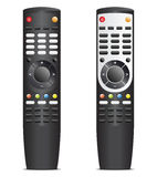 Black remote control Stock Photos