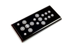 Black Remote Control Royalty Free Stock Photo