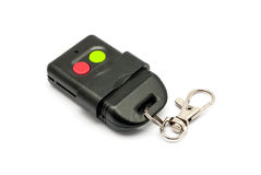 Black Remote Control Keychain Royalty Free Stock Photography