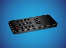 Black remote controller Royalty Free Stock Photo