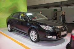 Black renault tallsman car Royalty Free Stock Photos