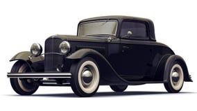 Black Retro  Car Stock Photography